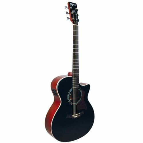 violão tagima tw 29 woodstock elétrico preto