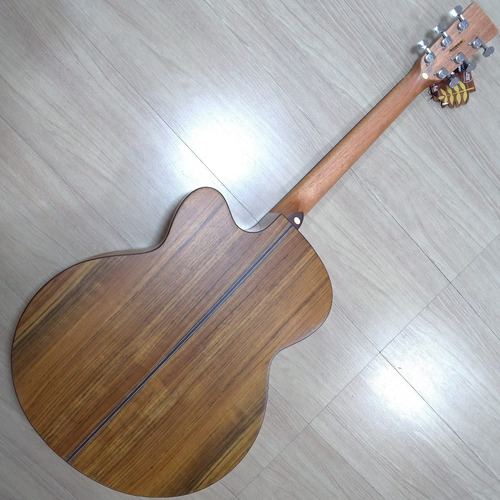 violão tagima walnut six jumbo captação fishman mostruário