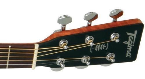violão tagima walnut six jumbo elétrico promoção