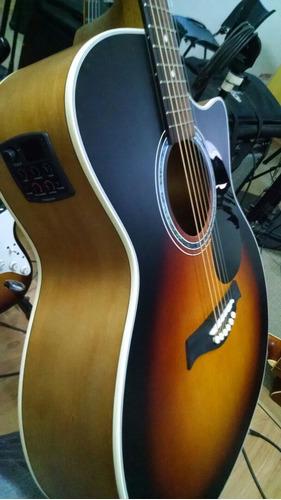 violão tagima woodstock  tw-29  elétrico frete grátis