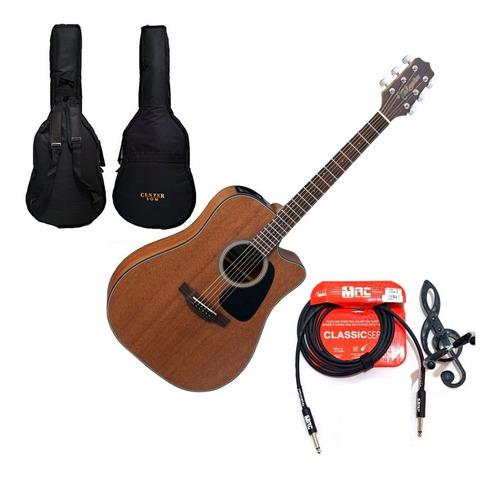 violão takamine folk gd11 mce eletrico. aço mahogany