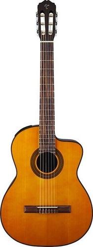 violão takamine nylon gc1 ce & tp-4t novo com case e nf
