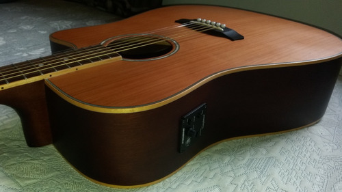 violão tanglewood tw28csn ce dreadnought natural satin