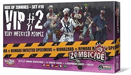 v.i.p #2 - zombicide expansão - galápagos português