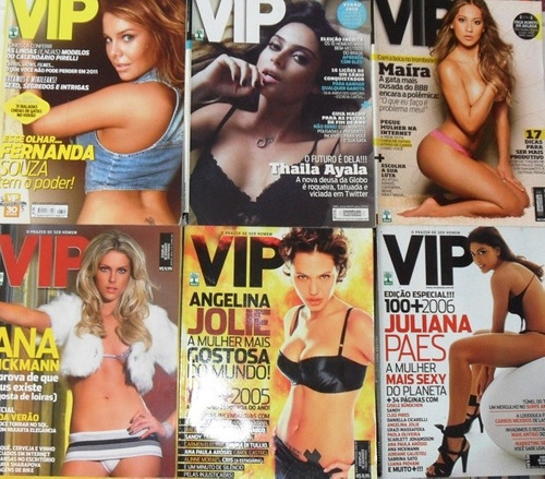 vip 5 revistas otimo estado