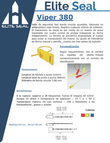 viper 380 (medida 20 cm )caja con 1000 pz