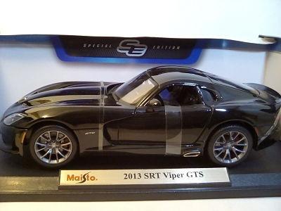 viper srt-gts-2013 negro