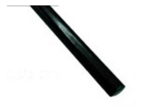 vira negra 13 mm de ancho x metro moldura walrod306