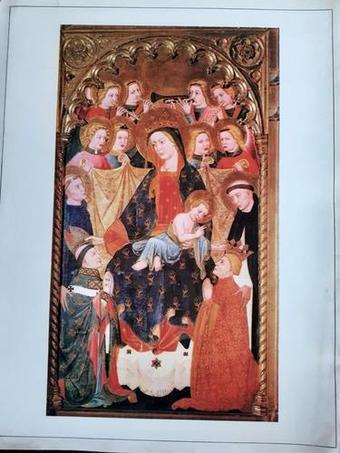 virgen con niño del retablo de san román de hornija  poster