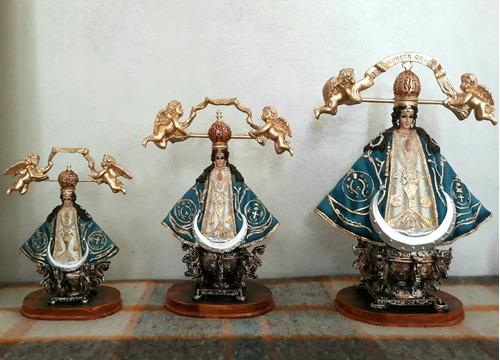 virgen de guadalupe de 20 cm. imágenes religiosas