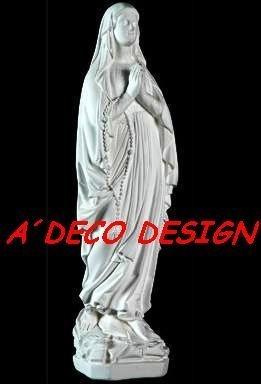 virgen milagrosa lourdes sagrado corazon 40 yeso estatua