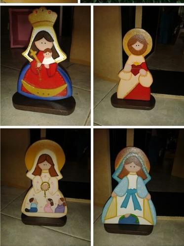 vírgenes e imágenes religiosas en mdf