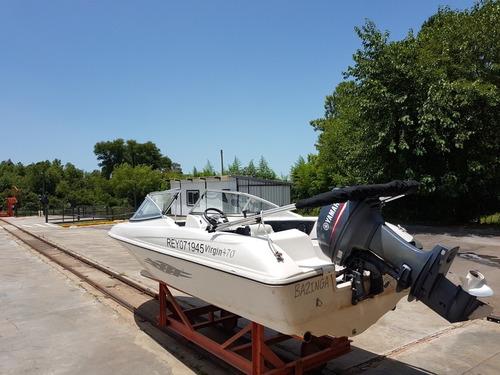 virgine marine 470 con yamaha 40hp 150 horas nuevo
