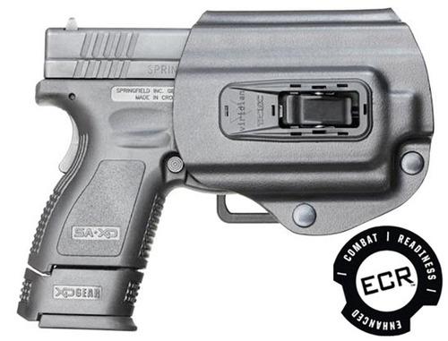 viridian tacloc pistolera construido para springfield xd / x