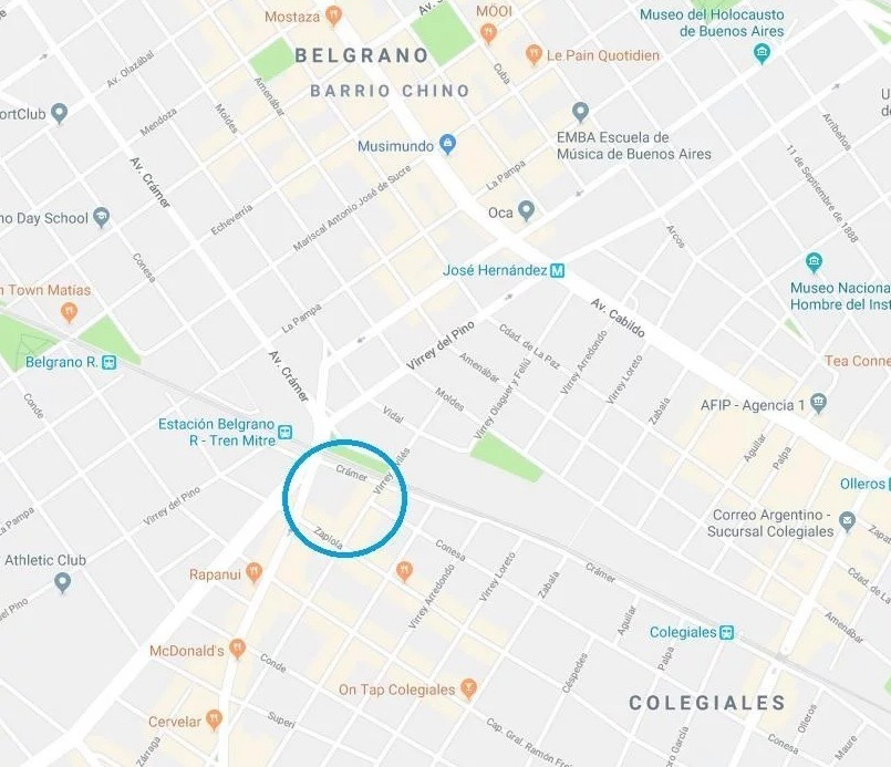 virrey aviles 2900 -colegiales - capital federal