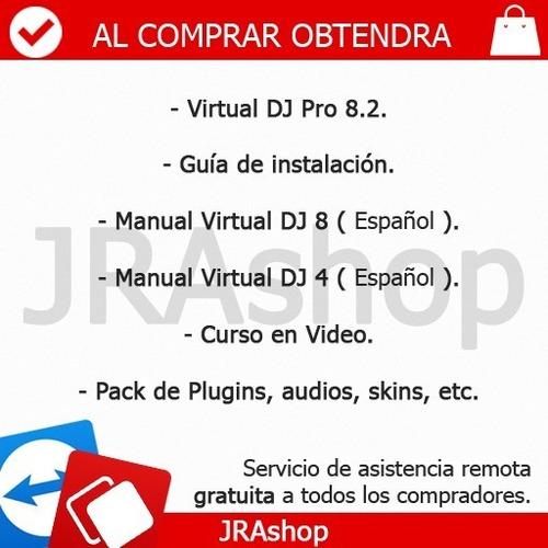 virt .ual d-j 8.3 pro infinity - programa, manuales, videos