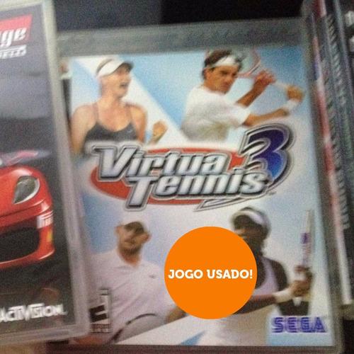 virtua tennis 3 - playstation ps3 - midia fisica