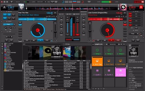 virtual dj 8 graba edita mezcla audio para dj profesional