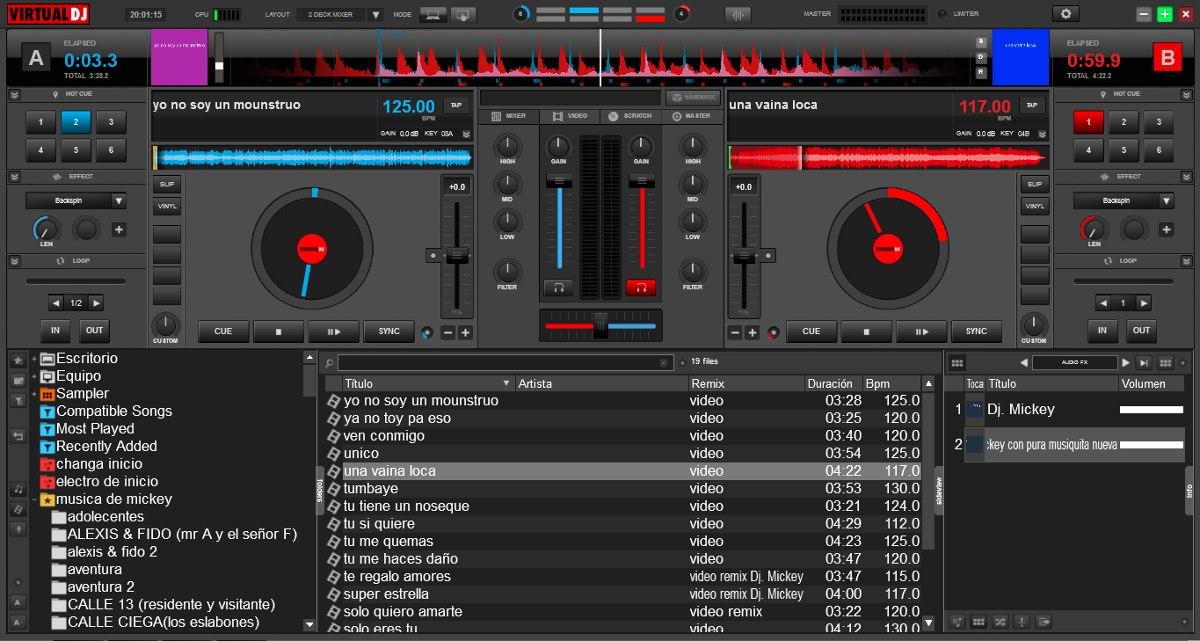 como descargar virtual dj 8 para pc