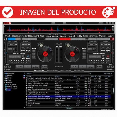 virtual dj 8 pro infinity - programa, manuales, videos.