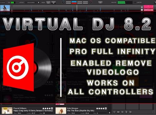 virtual dj 8.3 licencia pro infinity 2018 mezcla 8.2 8.1