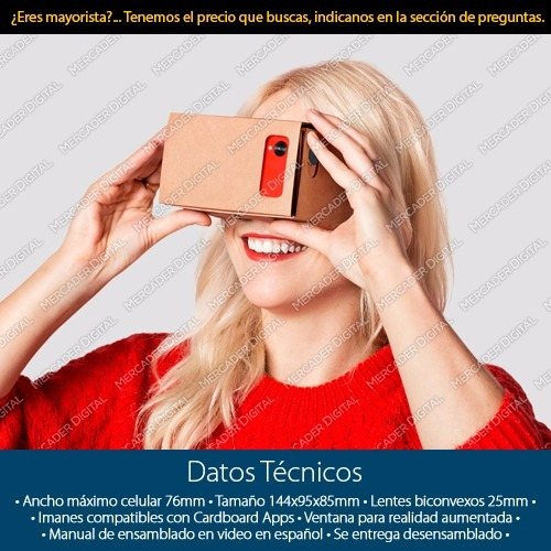 virtual lentes google realidad