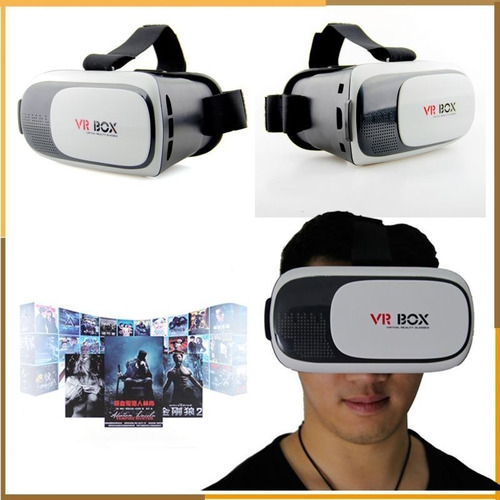 virtual óculos box realidade