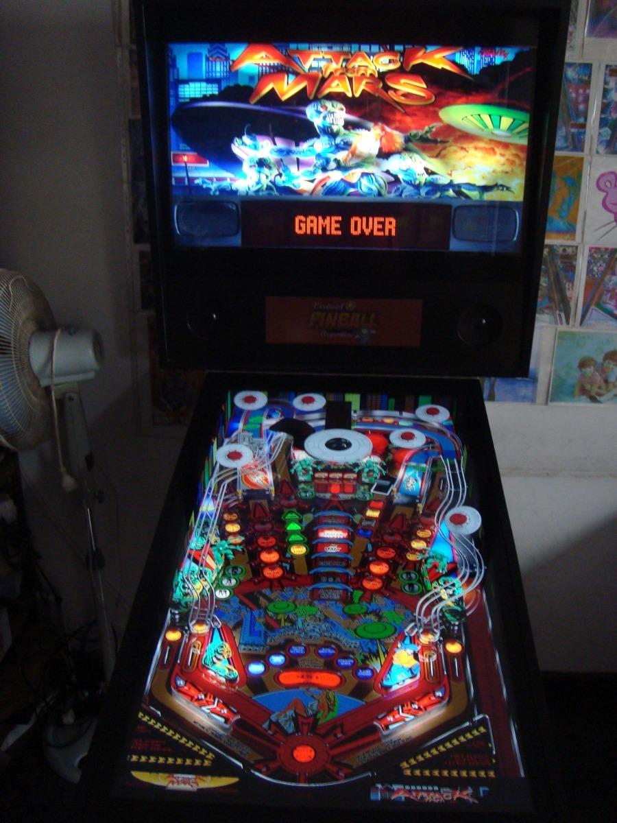 Virtual Pinball 40/32 Flipper Digital Arcade Mame Multijueg