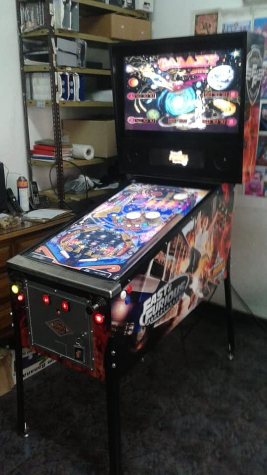 Virtual Pinball Argentino Classic One 40/17/32 + Multijuego!