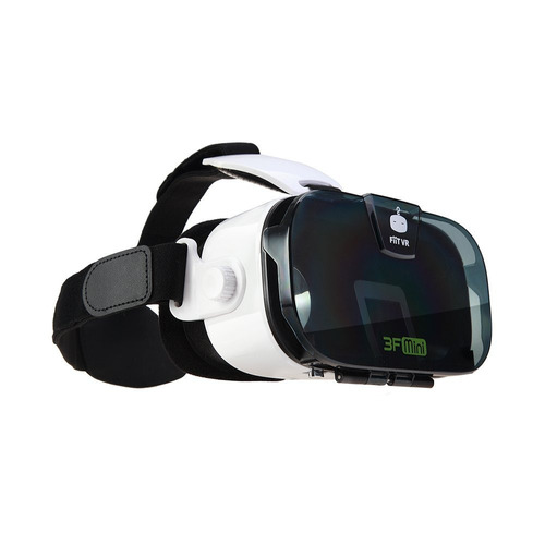 virtual reality headset 3d glasses vr google cardbo -transp