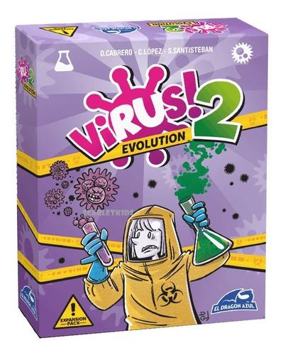 virus 2 expansion juego de mesa scarlet kids dragon