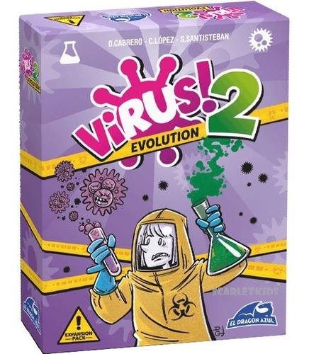 virus + expansion combo juego de mesa scarlet kids dragon