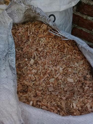 viruta limpia de ocalipto de pino nacional