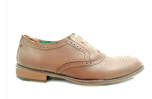 visandro zapato de vestir bostoniano casual formal piel