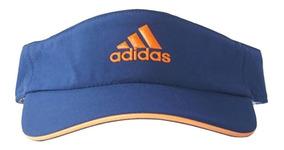 acebc3c330 Viseira Feminina Adidas Bones - Acessórios da Moda Azul com o ...