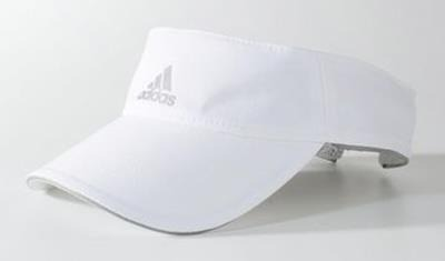 Viseira adidas Running Climalite Branca S22645 - R  69 9c5853ee4f4