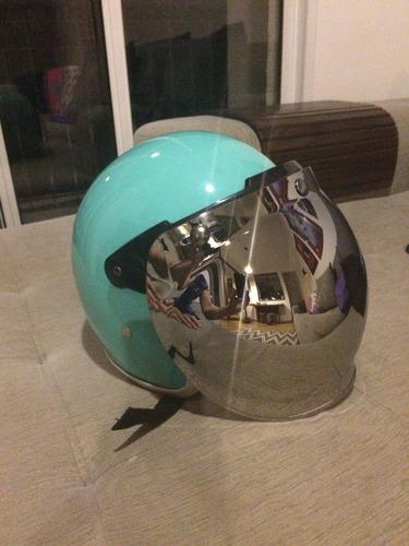 viseira bubble shield + flip up