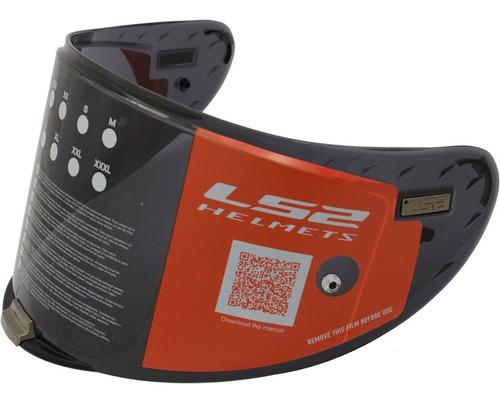 viseira capacete ls2 ff327 challenger fume original