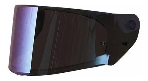 viseira capacete ls2 modelo ff320 e ff353 iridium rainbow