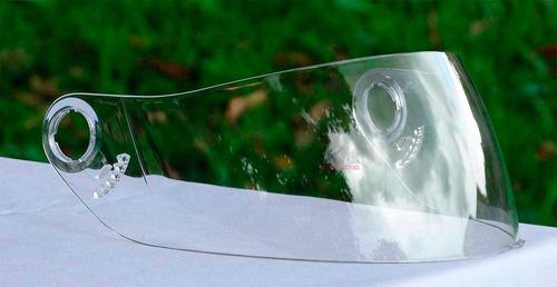 viseira capacete mixs fokker - mx5 - agile - nos - cristal