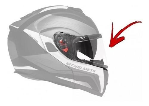 viseira capacete mt atom sv cristal v16 original mt