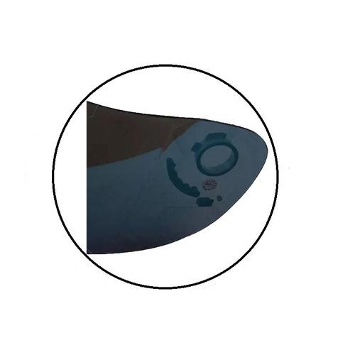 viseira capacete norisk ff311 polivisor cristal 1664c