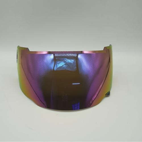 viseira capacete zeus 811 e 813 iridium camaleão