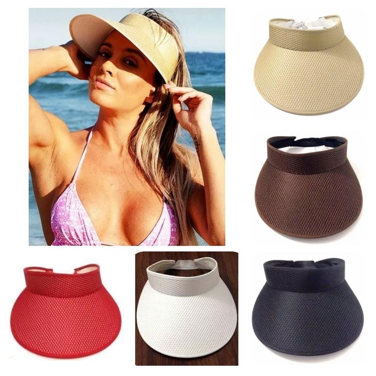 ad9e34921e587 viseira chapéu de praia igual da juju salimeni. Carregando zoom.