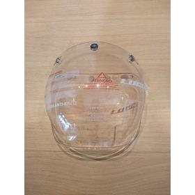 Viseira Cristal Capacete Custom Aberto Fabricante Lucca