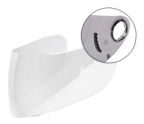 viseira cristal capacete shark s650 s700 - polivisor