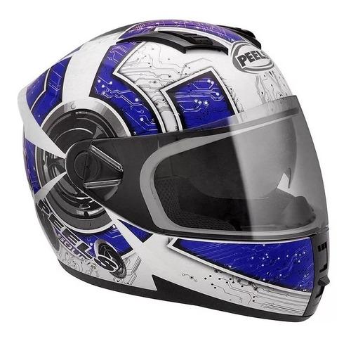 viseira cristal para capacete peels icon original