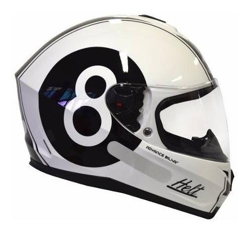 viseira cristal transparente capacete helt yohe advance