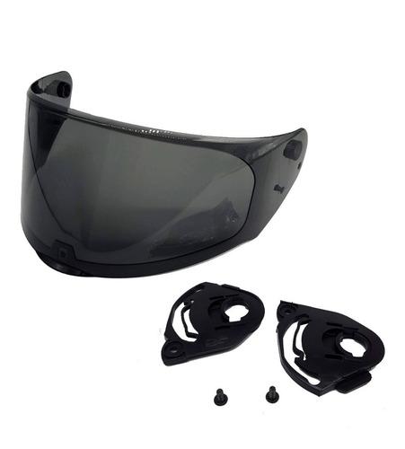 viseira do capacete ls2 modelo ff320 e ff353 fume escura
