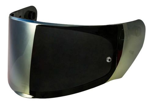 viseira do capacete ls2 modelo ff320 e ff353 iridium